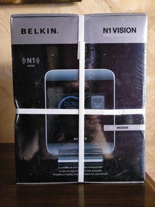 Router Belkin N1 Vision Nuevo