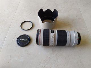 Objetivo Canon EF 70-200 serie L