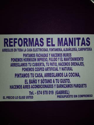 REFORMAS El MANITAS