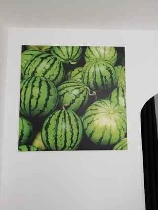 Cuadro a medida de fruta