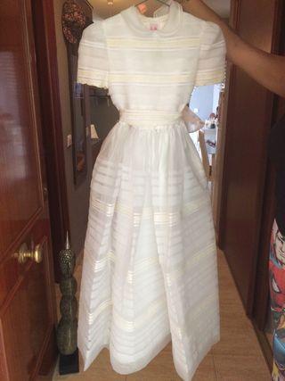 Vestido comunion talla 10-12 ( benalmadena)