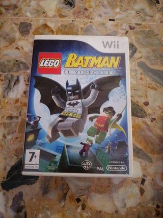 JUEGO WII BATMAN EL VIDEOJUEGO LEGO
