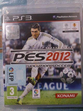 Juego Pro Evolution Soccer 2012 para PlayStation