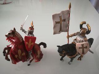 Figuras caballero medieval