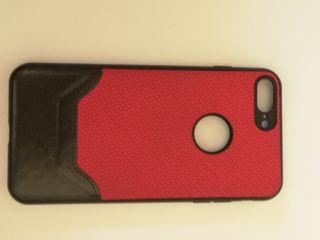 Funda cuero iPhone 7 y 8 Plus.