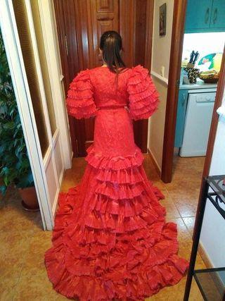 trajes de Copla o fiesta,el blanco de boda