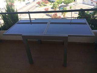 Mesa extensible de exterior