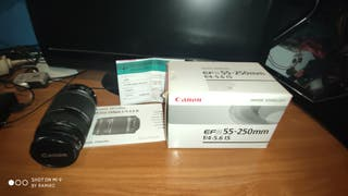 Teleobjetivo Canon 55-250
