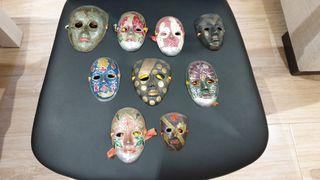 mascaras metal decoracion