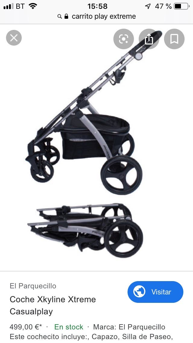 Carro de bebé Play Extreme