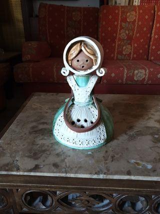 figura antigua ceramica