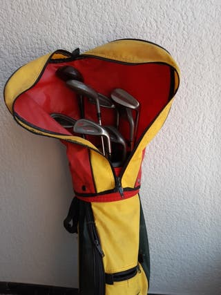Funda de Golf + 9 palos de Golf junior