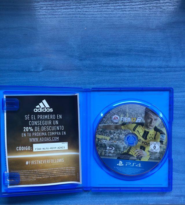 Vendo FIFA 19 (PS4)y te regalo el 18, 17 y 16