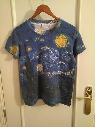 Camiseta La noche estrellada