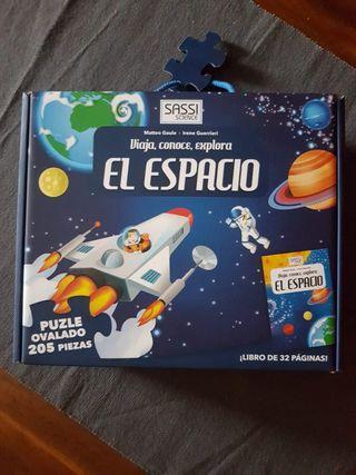 PUZZLE EL ESPACIO+LIBRO
