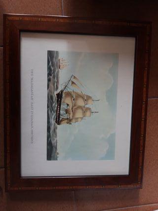 cuadros de barcos