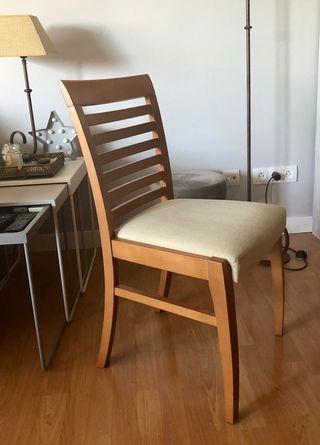 Juego de 6 sillas