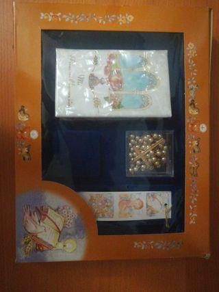 Librito primera comunión + rosario