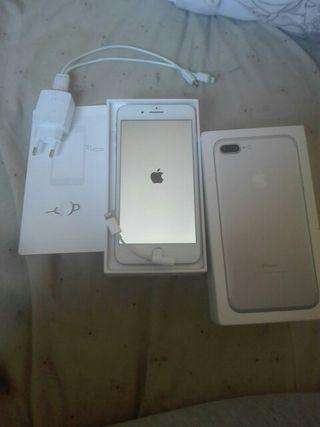 Iphone 7 plus plateado