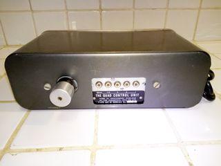 Preamplificador Quad Control Unit de Acoustical.