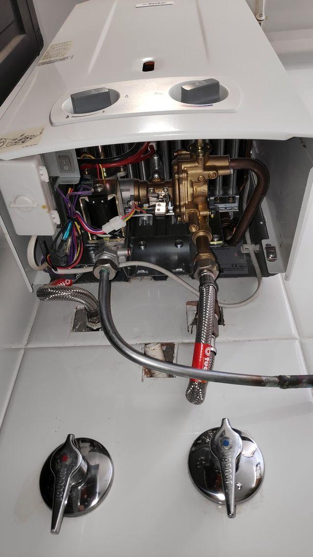 Calentador Gas NECKAR en perfecto estado