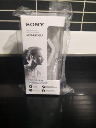 Auriculares Sony sport A estrenar