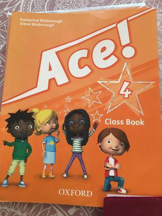 Libro Ace 4 Class Book Oxford