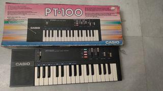 Piano teclado Casio pt-100