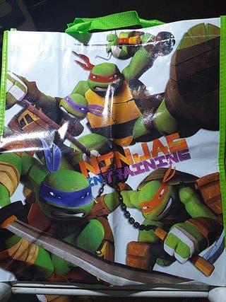 bolsa de las tortugas ninja