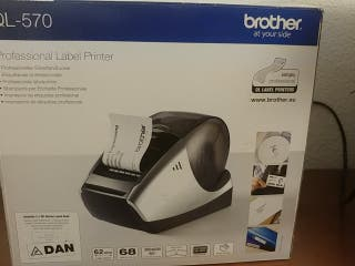 impresora etiquetadora térmica label printer