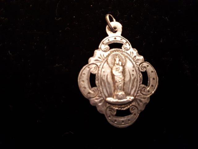 Medalla original virgen del Pilar