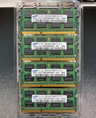 Memoria RAM DDR3 1066 MHz PC3-8500S