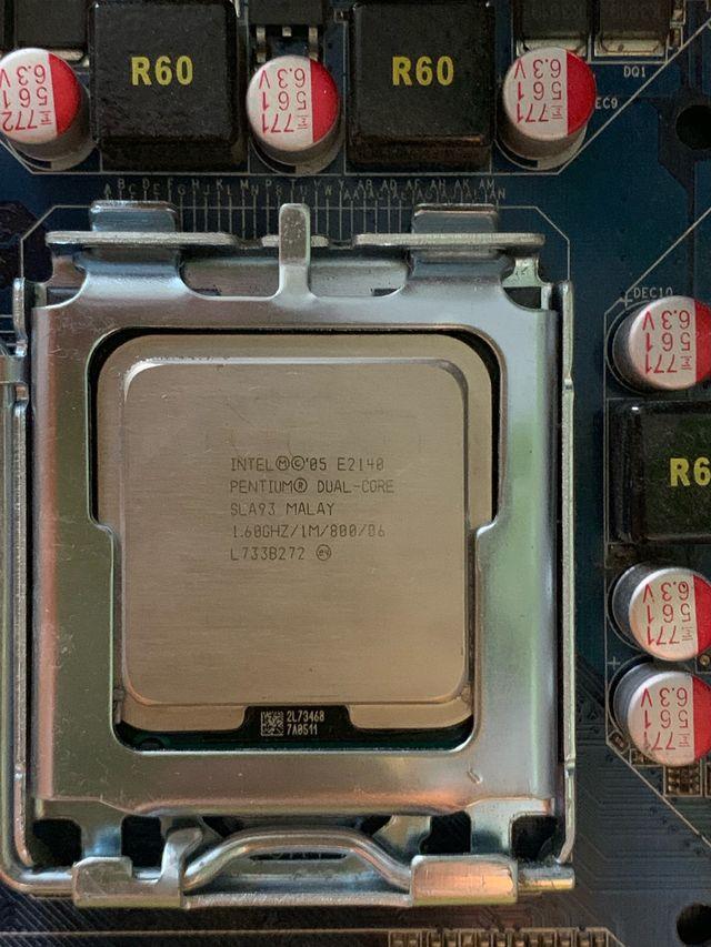 Placa base socket LGA 775, Pentium dual core