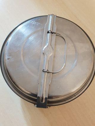 Fiambrera/olla acero inox