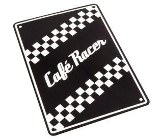 PLACA MOTO CAFE RACER NUEVAS