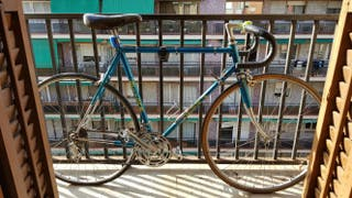 bicicleta Gitane de carretera antigua