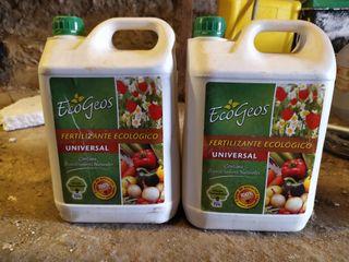 fertilizante ecológico tamaño industrial. 5 litros