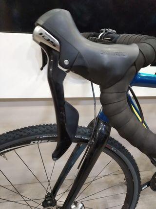 bicicleta gravel ciclocross