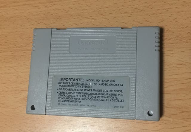 Secret Of Evermore para snes