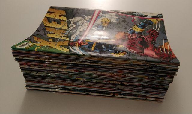 X-Men y Marvel lote 52 cómics