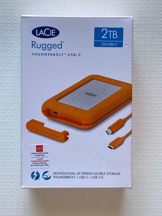Lacie 2TB Thunderbolt y USB-C Precintado