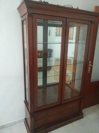 vitrina madera