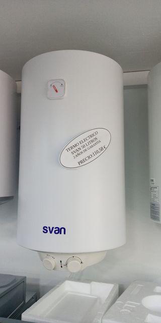 termo electrico svan 50L nuevo garantía 2 AÑOS