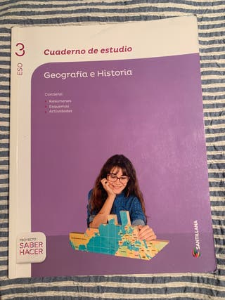 Libro geografía e historia 3º ESO