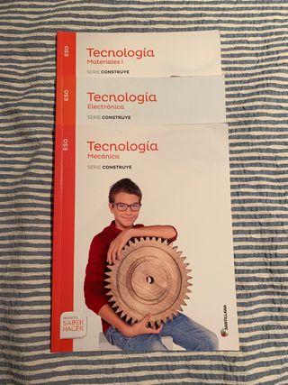 Colección libros tecnología ESO