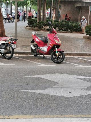 moto yamaha rs50.