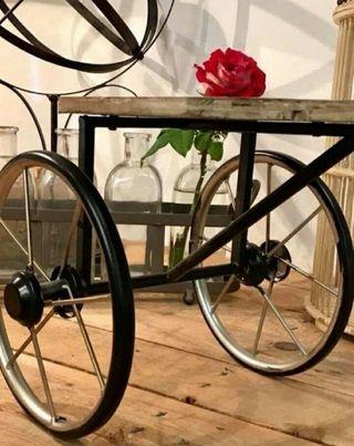 Triciclo decoración vintage