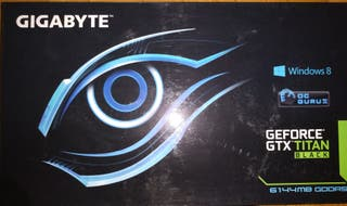 Tarjeta Gráfica Gigabyte Nvidia Titán Black