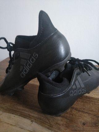 Botas Adidas fútbol de niño