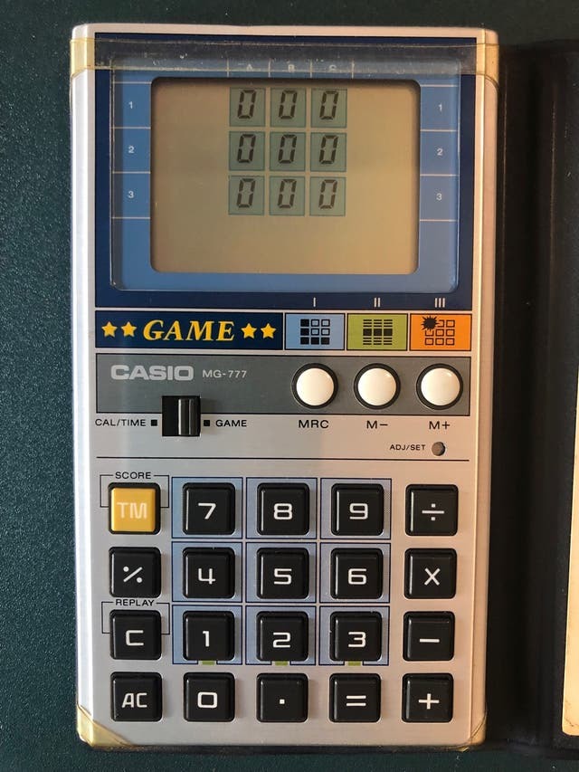 Casio Game MG-777